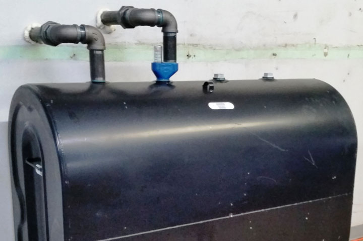 Oil tank installation and removal CT