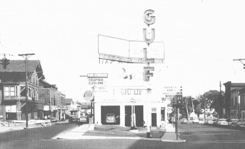 Knight's Gulf Gas Station